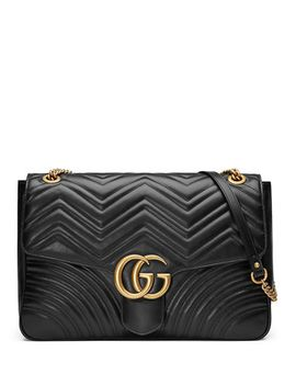 gg-marmont-large-chevron-quilted-leather-shoulder-bag by gucci