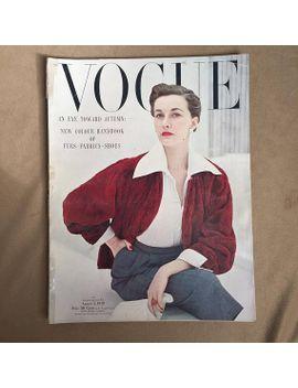 40s-magazine,-vintage-1940s-fashion-magazine,-vogue-august-1949,-40s-fashion,-vintage-advertisements,-rare by etsy