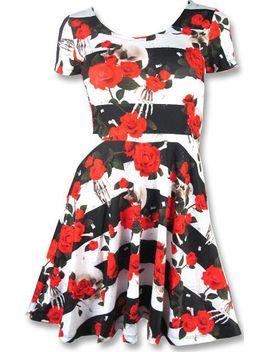skull-n-rose-short-|-dress* by beserk