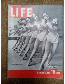 collectible-life-magazine-december-28,-1936-metropolitan-operas-ballet-cover-very-good-condition-great-ads by etsy