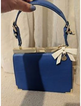 review-bow-peep-bag-new,-20x23x8cm,-bright-blue-color by ebay-seller