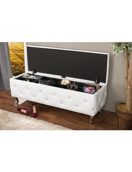stella-glam-white-faux-leather-upholstered-storage-ottoman by baxton-studio