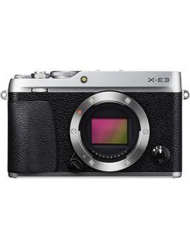 x-e3-mirrorless-digital-camera-(body-only,-silver) by fujifilm