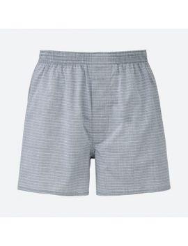 men-woven-striped-trunks by uniqlo