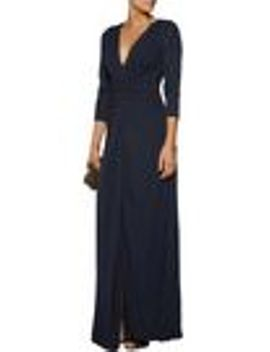 twist-front-jersey-gown by badgley-mischka