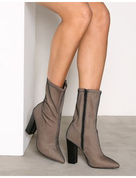 stretchy-mesh-boot by nly-shoes