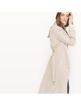 long-trench-coat,-100%-lyocell by la-redoute