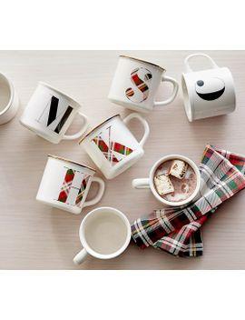 plaid-alphabet-mug---s by pottery-barn