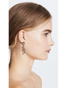 small-monkey-earrings by oscar-de-la-renta