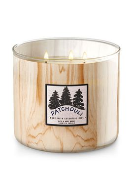 patchouli-woods   3-wick-candle---white-barn by bath-&-body-works