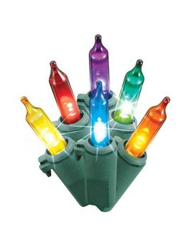 philips-60ct-christmas-led-smooth-mini-string-lights-multi-twinkle-gw by philips