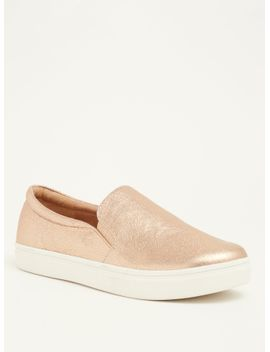 metallic-slip-on-sneakers-(wide-width) by torrid