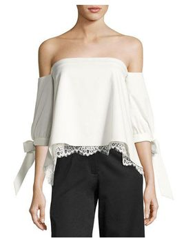 finale-off-the-shoulder-stretch-ottoman-top,-ivory by sachin-&-babi