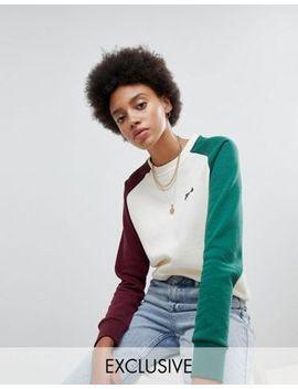 fila-–-oversize-boyfriend-sweatshirt-mit-Ärmeln-im-blockfarben-design by fila
