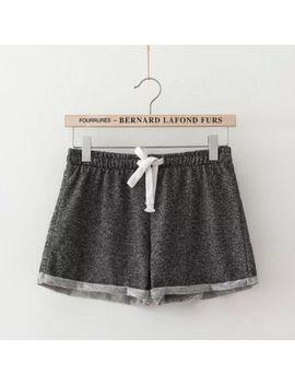 women-summer-casual-sexy-hot-summer-casual-short-beach-fashion-ladys-women-loose-cotton-elastic-waist-shorts- by ali-express