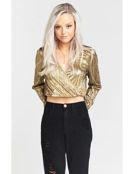 donovan-top-~-good-as-gold-pleat by show-me-your-mumu