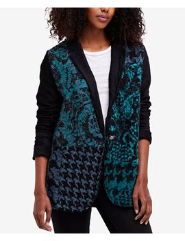 better-together-oversized-metallic-blazer-cardigan by free-people