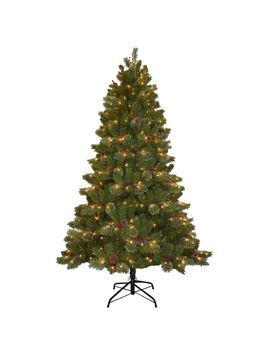 75-ft-cashmere-cone-and-berry-decorated-artificial-christmas-tree-with-550-clear-lights by national-tree-company