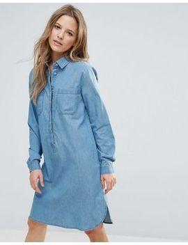 brave-soul-rosin-oversize-denim-shirt-dress by casual-dress