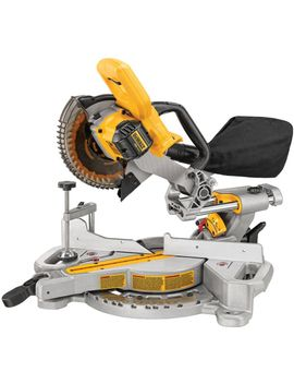 20-volt-max-lithium-ion-cordless-miter-saw-(tool-only) by dewalt