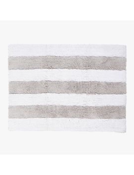 striped-cotton-bath-mat by zara-home