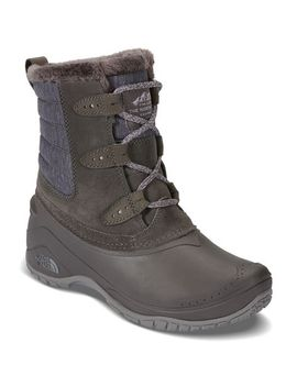 the-north-face-womens-shellista-ii-shorty-insulated-waterproof-winter-boots,-dark-gull-grey_cloud-grey by eastern-mountain-sports