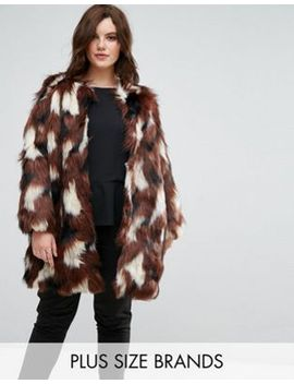 elvi-patchwork-faux-fur-coat by elvi