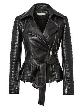 patchwork-zipper-lapel-long-sleeve-womens-jacket by patchwork-zipper-lapel-long-sleeve-womens-jacket