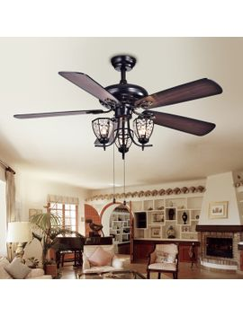 mirabelle-3-light-5-blade-52-inch-black-metal-and-crystal-lighted-ceiling-fan-(optional-remote) by warehouse-of-tiffany