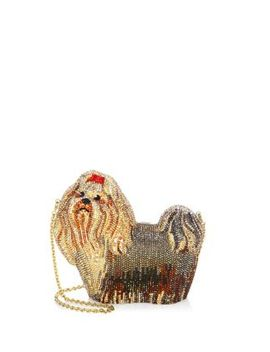 charlie-crytal-dog-clutch by judith-leiber-couture