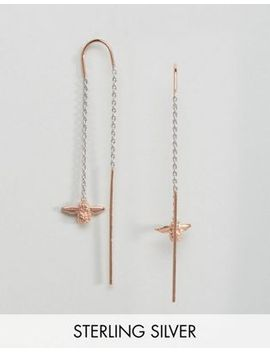 olivia-burton-bee-chain-drop-earrings by olivia-burton