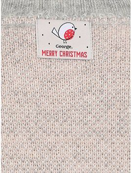 knitted-christmas-longline-jumper by asda