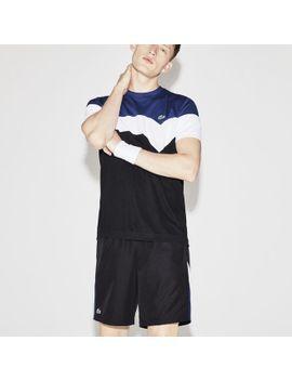 mens-lacoste-sport-tennis-colorblock-technical-piqué-t-shirt by lacoste