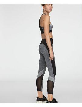 leggings-com-cortes-cinzentos by oysho