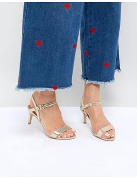 new-look-shimmer-2-part-low-heel-sandal by new-look