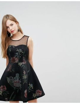 new-look-scuba-a-line-dress by new-look