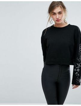 ivyrevel-sweat-with-embellished-sleeves by ivyrevel