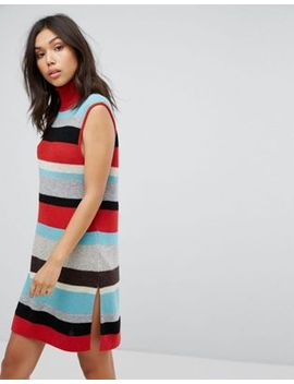 boss-casual-stripe-knit-dress by boss-orange-by-hugo-boss