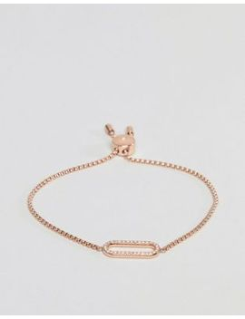 michael-kors-rose-gold-cut-out-oval-adjustable-bracelet by michael-kors