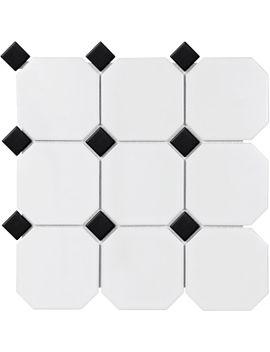 """sail-4""""-x-4""""-porcelain-mosaic-tile by parvatile"""