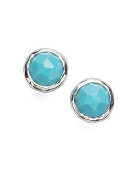 wonderland-mother-of-pearl,-clear-quartz-&-sterling-silver-lollipop-doublet-stud-earrings by ippolita