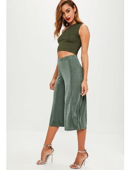 khaki-slinky-culottes by missguided