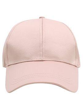 satin-feel-baseball-cap by asda