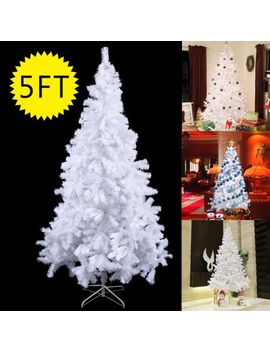 costway-5ft_6ft_7ft_8ft-artificial-pvc-chrismas-tree-w_stand-holiday-season-indoor-outdoor-green by costway