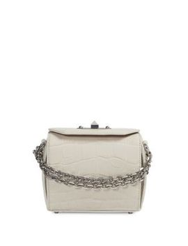 croc-embossed-leather-box-bag by alexander-mcqueen
