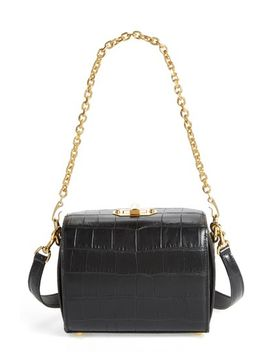 box-bag-19-croc-embossed-leather-bag by alexander-mcqueen