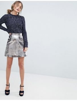 oasis-sparkle-knit-sweater by oasis