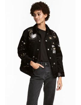 fully-lined-corduroy-jacket by h&m
