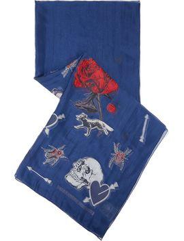 fil-coupé-silk-blend-chiffon-scarf by alexander-mcqueen