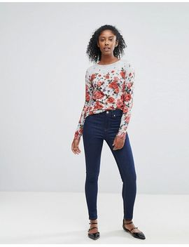oasis-floral-printed-sweater by oasis